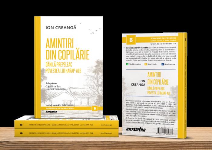 Amintiri din copilărie - Romanian Easy Readers - Lectură ușoară în limba română